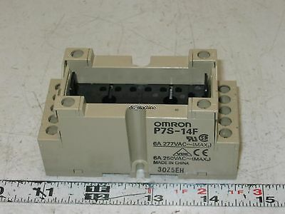 New Omron Relay Socket P7S-14F