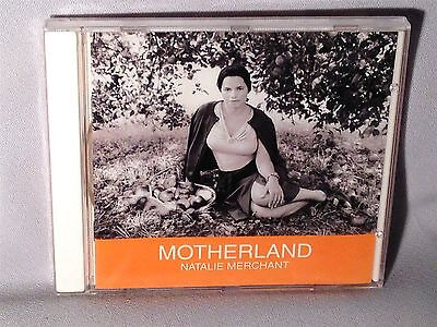 CD NATALIE MERCHANT Motherland NEW MINT SEALED