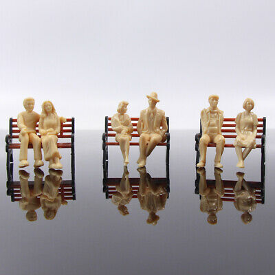 P30SB 30pcs all Seated 1:30 UnPainted Figures White G