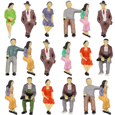 P30S 18pcs all Seated 1:30 Painted Figures G SCALE