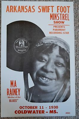 "Ma Rainey-""Mother of the Blues""  Poster"