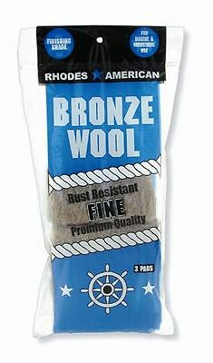 Bronze Wool 3 Packs of 3 Pad - Flat Rate Shipping