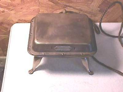 Antique Security Electric Waffle Maker Iron