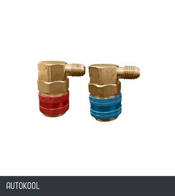 Actecmax R134A Economy High And Low Side Service Coupler Set A/C Qc15Lh