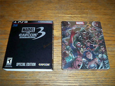 Marvel vs Capcom 3 Fate of Two Worlds SPECIAL EDITION PS3 NEW