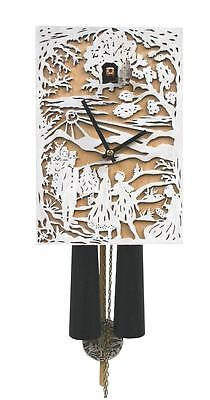 Modern Cuckoo Clock Hand Made From Black Forest Germany