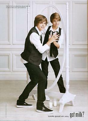 Dylan & Cole Sprouse - Got Milk? Ad - The Suite Life - Magazine Pinup - Poster
