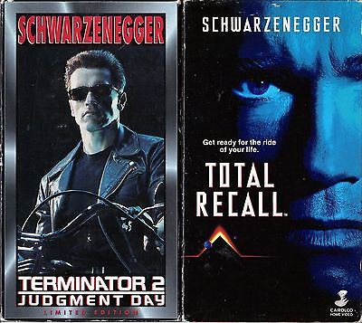Terminator 2: Judgment Day & Total Recall - 2 VHS