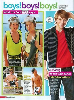 DYLAN & COLE SPROUSE - SHIRTLESS - STERLING KNIGHT