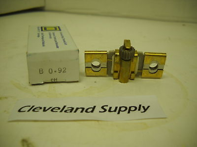 Square D B0.92 Overload Relay Thermal Unit New Condition In Box