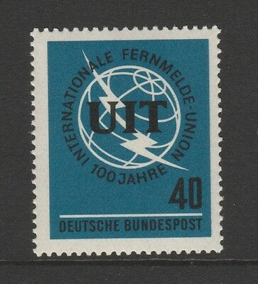 W Germany 1965 Telecom Union SG 1397 MNH