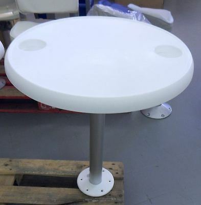 Table ronde amovible avec pied (cabine)