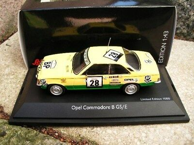 Schuco Classic  1:43 Opel Commodore B GS/E BP Tour De Corse Art 02772