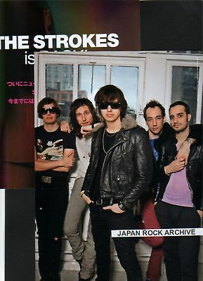 2011 THE STROKES 6p 2 photo JAPAN mag / press article