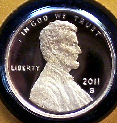 2011-S Proof Lincoln Memorial Penny - Deep Cameo!
