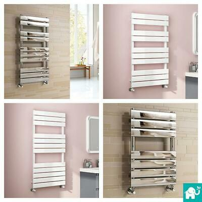 Designer Chrome Heated Bathroom Towel Rail Radiator