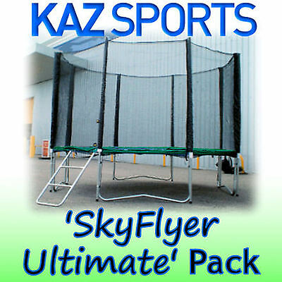 Sky Flyer Ultimate Trampoline Pack
