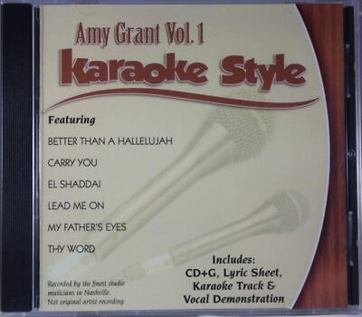 Amy Grant Volume 1 Christian Karaoke Style NEW CD+G Daywind 6 Songs