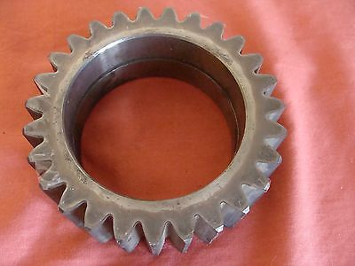 New Old Stock  Bobst Martin Spur Idler Gear Cgs-9161 Teeth 27 Bore: 80Mm