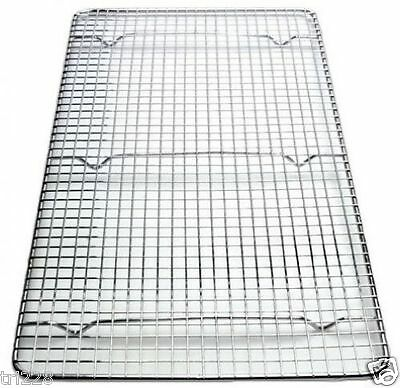 "UPDATE INSERT WIRE PAN GRATE COOLING RACK  10"" x 18"" FULL SIZE"