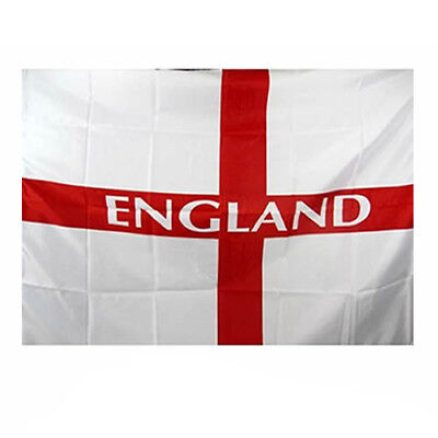 LARGE ENGLAND FLAG ST SAINT GEORGES BANNER FOOTBALL SUPPORTERS EURO 3ft x 2ft