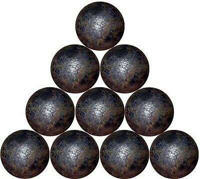 "10 - 1"" dia. forged steel balls  (1-1/2 lbs)"