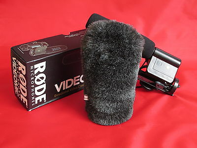 Deadcat windscreen fits Rode Videomic microphone mic