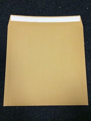 """100 7""""  STRONG BROWN PEEL AND SEAL RECORD MAILERS 'ENVELOPES FREE 24h"""