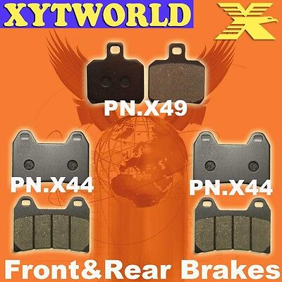 Front Rear Brake Pads for DUCATI ST2 (944cc) 1997-1999