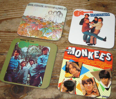 Hey Hey Its the Monkees Album Cover COASTER Set