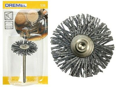 Dremel 538 High Performance Abrasive Brush Pack of 1 by tyzacktools