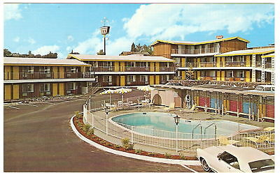 1960 S Adv Pc Ponderosa Inn Motel Redding Ca California