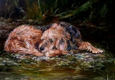 Otterhound 5 Blank Cards/Notelets No 6 SH By Starprint - Auto combined postage