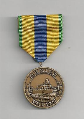 UNITED STATES MEDAL - MEXICAN SERVICE MEDAL - NAVY