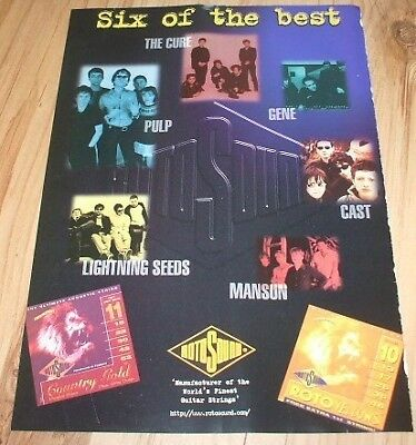 The Cure/Pulp/Cast-1998 magazine advert