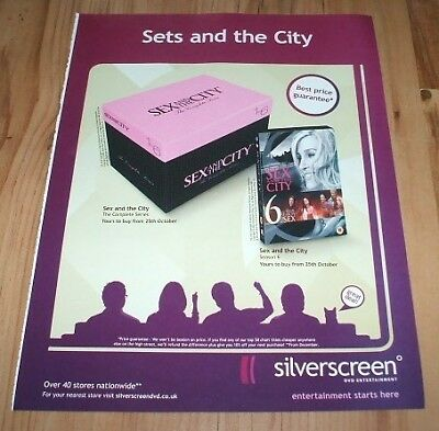 Sex and the city tv series-2004 magazine advert