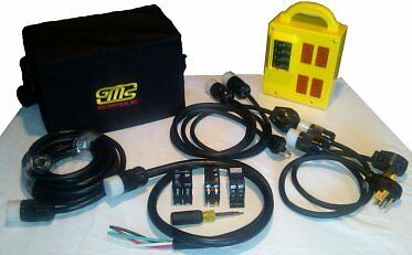 Power Distribution Box Comes With All Plugs In The Kit