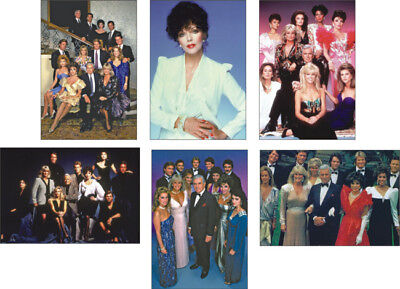 Dynasty Joan Collins  New POSTCARD Set