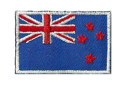 Ecusson drapeau Nvlle Zélande petit patch 45 x 30 mm thermocollant