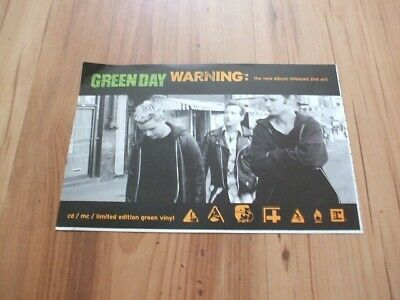 Green day-magazine advert