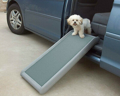 "Solvit Mini Van Car Couch Bed Dog Cat Pet Half Short Ramp II up to 20"" High"