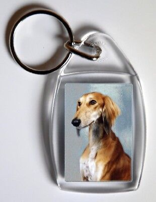 Saluki Key Ring By Starprint  - Auto combined postage