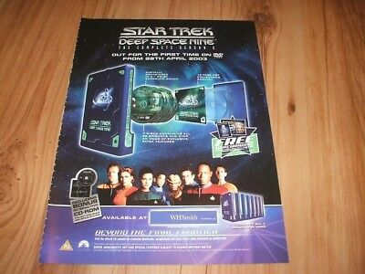 Star Trek deep space nine-2003 magazine advert