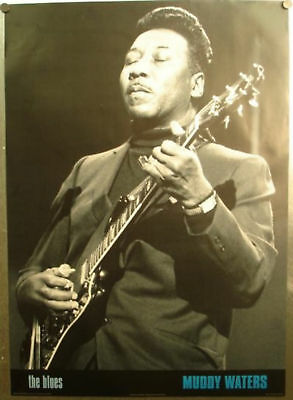 "Muddy Waters ""the Blues"" Poster 24"" X 34"""