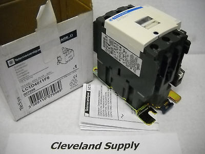 Telemecanique Lc1D4011F6 Contactor 110V 30Hp  P/n 007098 New Condition In Box