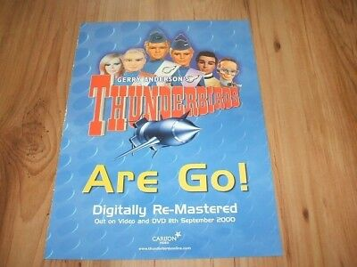 Thunderbirds are go-2000 magazine advert