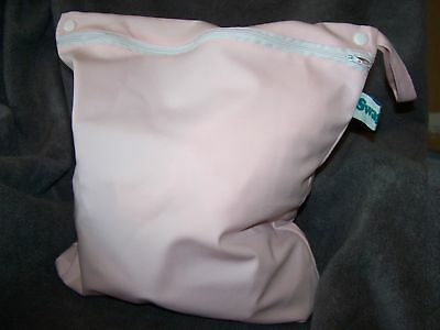 SWAGGERS WET BAG 35CM X 40CM  PASTEL PINK
