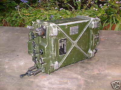 Clansman Military L/rover Prc351 Manpack Working Set