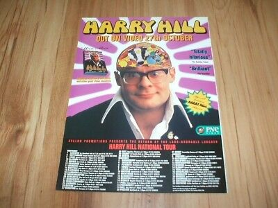 Harry Hill-1998 magazine advert