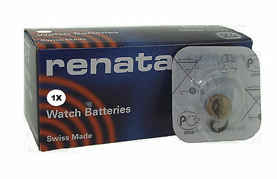 Renata 1.55 Volt Watch Battery 364 Replaces SR621SW